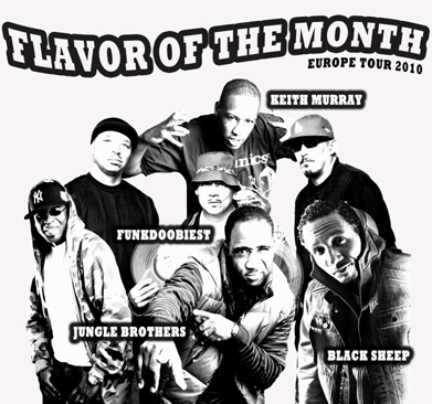 FLAVOR OF THE MONTH TOUR