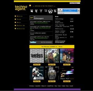 Screenshot New Website (Light V) V3.2 2010