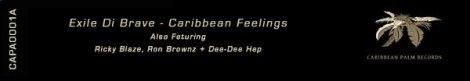 CAPA0001A Exile Di Brave – Caribbean Feelings